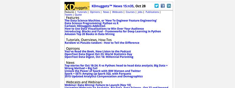 KDnuggets News