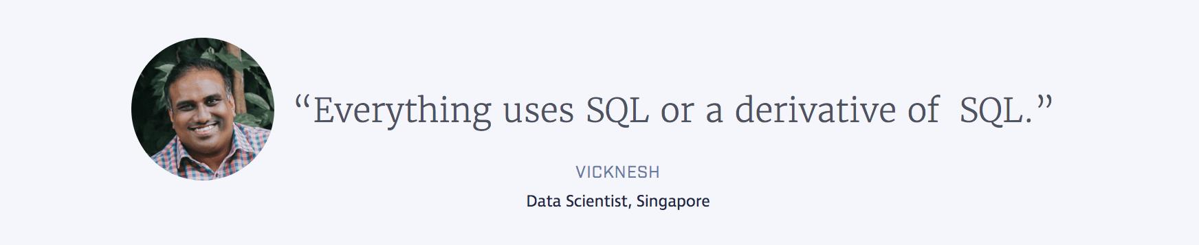 vicknesh-quote-using-sql-job