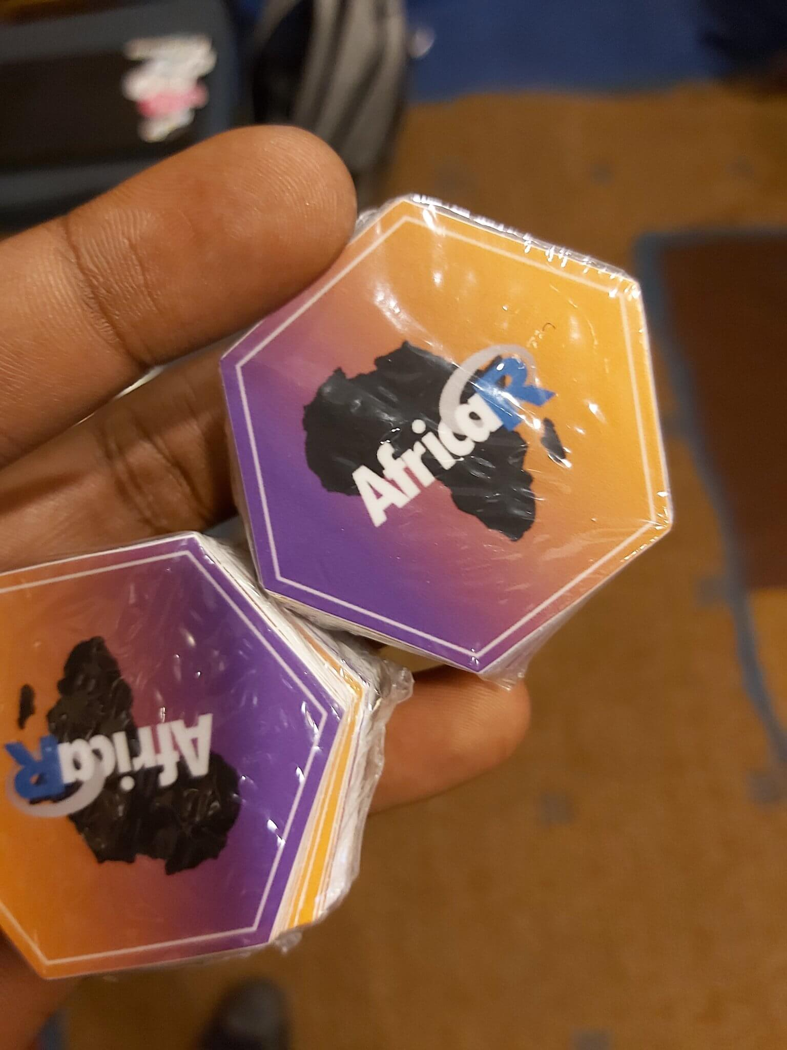Africa R users hex stickers