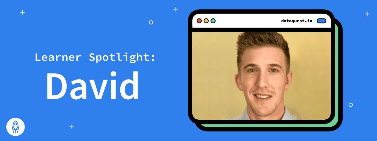 Learner Spotlight: David Rushton