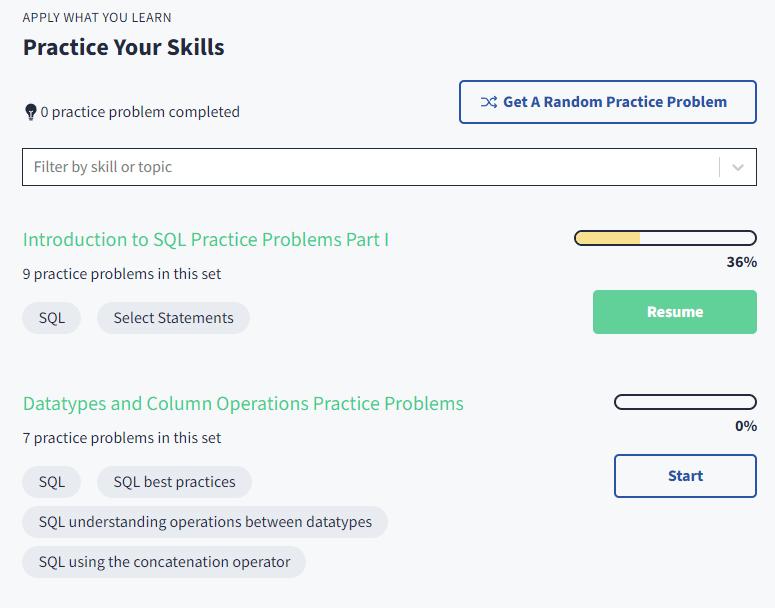 September Update: New Practice Problems